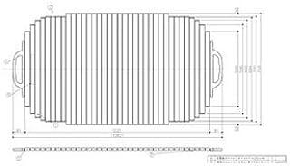 [EKK749W5]TOTO 風呂フタ シャッター式(旧品番:EKK749W4)