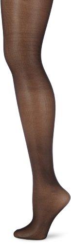 Hudson Damen Glamour 20 Feinstrumpfhose, Transparent, Schwarz (Black 0005), 42/44