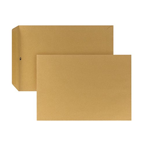 Posthorn 04070337busta, con banda umettabile, 250pezzi, C4, 229x 324mm, 110g, marrone