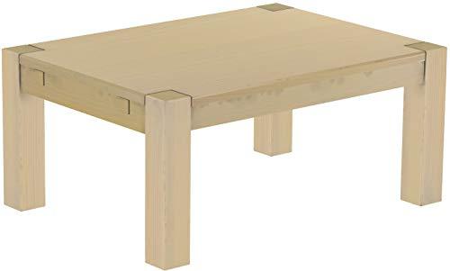 Brasilmöbel Couchtisch Rio Kanto 100x73 cm Birke Wohnzimmertisch Holz Tisch Pinie Massivholz Stubentisch Beistelltisch Echtholz Größe und Farbe wählbar