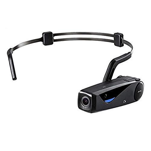 SZYLHT Videocámara 1080P Cámara De Video Manos Libres Cámara Deportiva FPV Portátil Full HD 1080P 30FPS WiFi Vlog Grabadora De Cámara con Control Remoto (con Tarjeta Micro SD De 32GB),with Remote