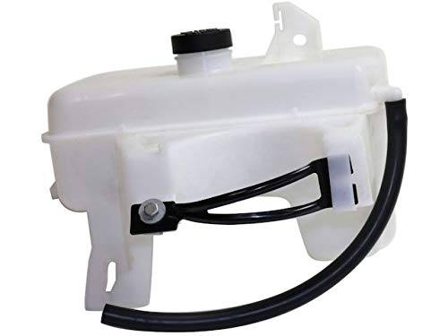 Radiator Coolant Overflow Expansion Tank with Cap - Compatible with 2002-2009 Chevy Trailblazer