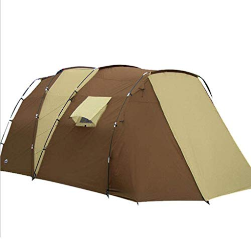 SAIYI Camping Tent- Outdoor Multi-person Family Double-layer Anti-storm Beach Tent Breathable