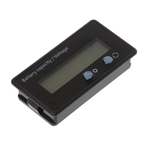 Great Deal! QWERTOUR LCD Acid Lead Lithium Battery Capacity Indicator Voltmeter Voltage Tester