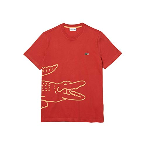 Lacoste TH0458 T-Shirt, Cratere, 4XL Uomo