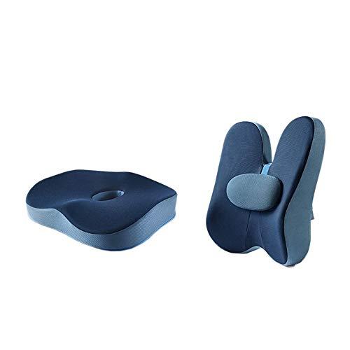 NCRD Comfort Seat Cushion for Office Chair - Cushion - Coccyx Cushion - Sciatica Pillow for Sitting, Office Breathable Cushion Chair Cushion Beautiful Buttocks Hemorrhoid Cushion Memory Foam