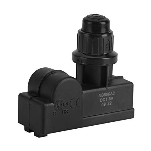 Growcolor BBQ Ignitor, DC1.5V Batteriebetriebener BBQ Gas Grill Funkengenerator 2 Auslass Universal Ignitor Igniter Schwarz