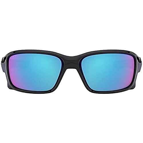 Oakley Herren Straightlink 933104 Sonnenbrille, Polished Black, 58