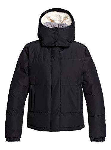 Roxy Hanna - waterdichte gewatteerde jas met capuchon voor vrouwen ERJJK03287