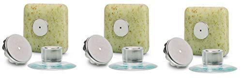 3 x Seifenhalter mit Magnet by SudoreWell® / Savont - neu, innovativ, sauber und umweltfreundlich