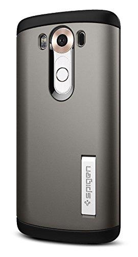 Spigen Slim Armor LG V10 Case with Air Cushion Technology and Hybrid Drop Protection for LG V10 - Gunmetal