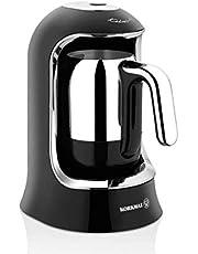 Korkmaz A860-07 kahvekolik otomatik kahve makinesi siyah/krom