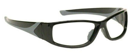 X-ray Radiation Leaded Protective Eyewear in Stylish, Lightweight and Comfortable Wrap-around Plastic Safety Frame That Is Designed to Hug the Contour of Your Face Blocking Light From All Angles