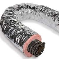 Duct Air Flex 6inx25ft Silver