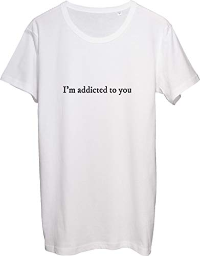 I'm Addicted to You Hooked Tribute RIP T-shirt pour homme - Blanc - XX-Large