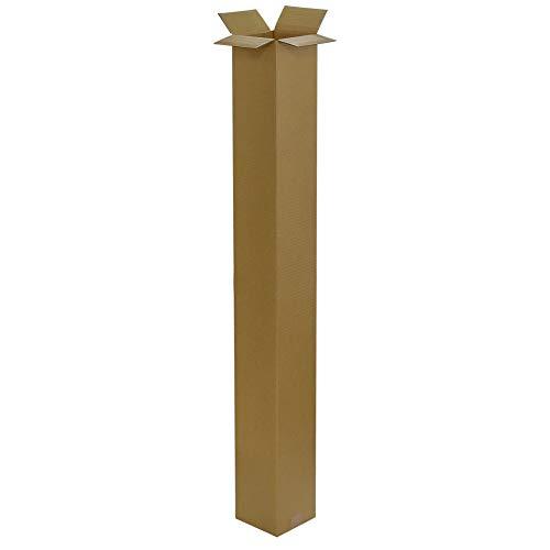 ボックスバンク ダンボール(段ボール箱)ゴルフクラブ・ポスター用(13×13×122cm) 5枚セット(2つ折り配送)引越し・収納 160サイズ FG02-0005