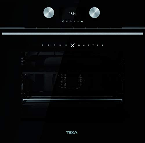 Teka SteakMaster Pyrolyse Backofen 700°C Power-Grill Black Edition