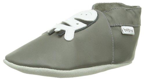 Bobux 460612, Unisex Baby Lauflernschuhe, Grau (grau), M EU