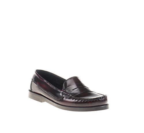 Zapatos Mocasines para niños Unisex. Calzado de niño Fabricado en España - Mi Pequeña Modelo 595I Color Burdeos.