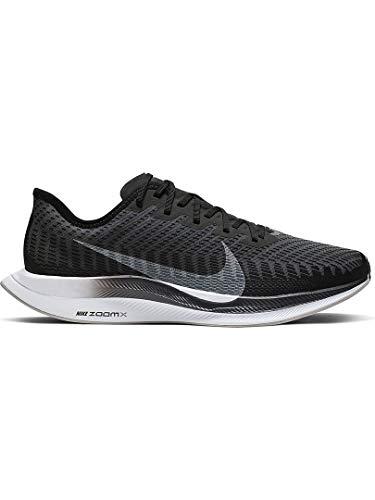 Nike Zoom Pegasus Turbo 2 Men's Training Shoe Black/White-Gunsmoke-Atmosphere Grey 12.0