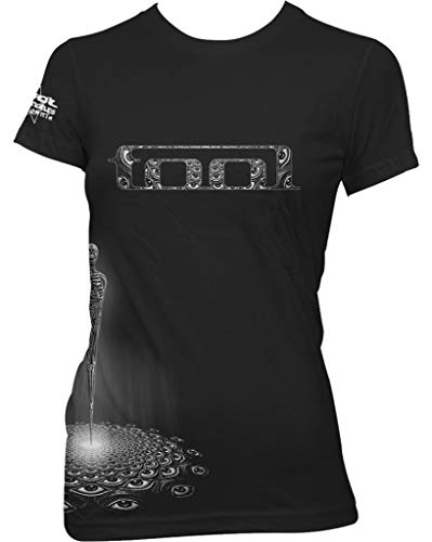 Tool 'Spectre Baby Doll' (Black) Womens Fitted T-Shirt (x-Large)
