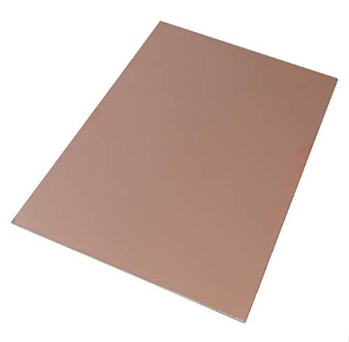 Preisvergleich Produktbild AERZETIX - Platte aus Kupfer für Leiterkreis 170 / 120 / 0, 6 mm 18 m Epoxidharz Glasfaser C40745