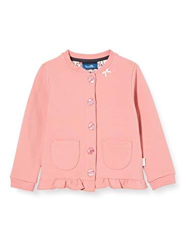 Sanetta Baby-Mädchen Sweatjacke Melon Strickjacke, rosa, 074