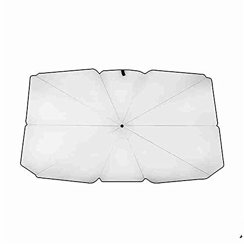 MCPPP Paraguas de Coche Plegable, Interior de Paraguas de Paraguas de Paraguas de Paraguas Viernos UV Protección contra Sombra Cortina de Sombra Accesorios DE Coche