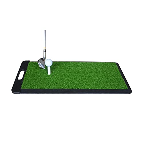 Limuchen Plegable PRORTE PRÁCTICA DE Golf Mat Interior, 30 × 60cm Pastel de Entrenamiento de Golf con asa, Niños Adultos Mini Mini Mats Portátil