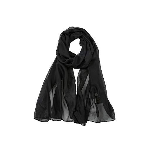 ALBERTO CABLE superzachte zijden chiffon stola bruid bruiloft avondjurk sjaal wikkeldoek sjaal sjaal