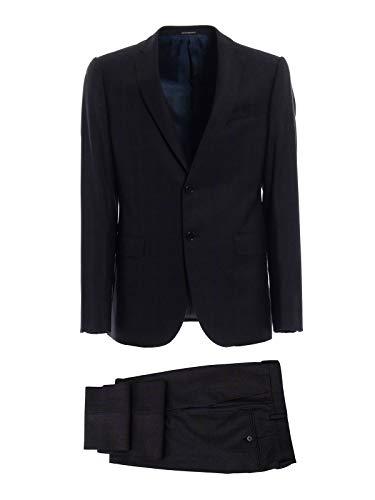 Emporio Armani Luxury Fashion Herren 11VMET11671920 Schwarz Wolle Anzuge | Frühling Sommer 20
