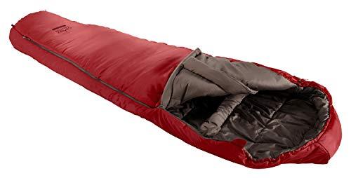 Grand Canyon Fairbanks 205 Mumienschlafsack - Premium Schlafsack für Outdoor Camping - Limit -4° - Red Dahlia
