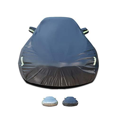 HWHCZ Autoplanen Car Cover funktioniert mit Koenigsegg CCX  Eine Schicht Baumwollfussel innen  Regenfest, Winddicht, staubdicht, UV-beständig, abkühlen (Color : B)