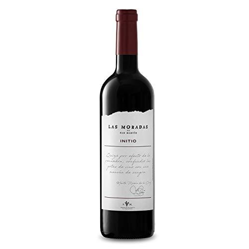 Las Moradas De San Martin Initio, Vino Tinto - Añada 2013- D.O. Madrid, 75 cl - Vino Fresco, Vivo y Elegante - Elaborado con uva Garnacha