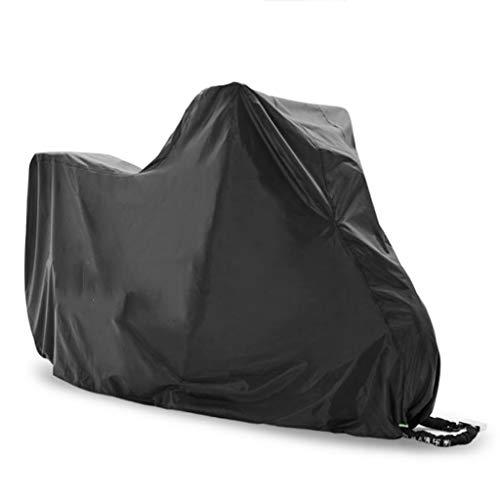Vélo Moto Couverture Couverture | 190T indéchirable extérieur Housse for Moto |2 Trous de Verrouillage |Protection Parfaite Contre la Pluie, la Neige, Soleil ou de la poussière