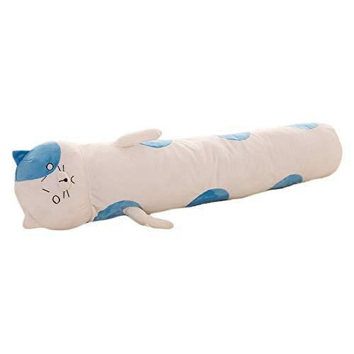 Nunubee Maternity Desgaste De Maternidad Multifuncional Almohada Súper Suave con Forma De Gato Almohada Lumbar Saludable, 100 * 20 Cm'