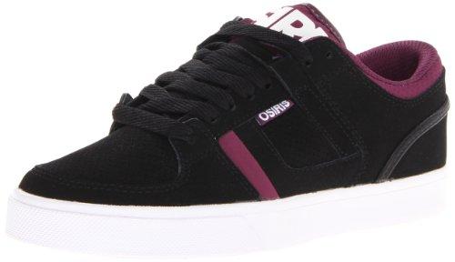Osiris Herren CH2 Skate Schuh, Schwarz (Schwarz/Violett/Weiß), 37 EU