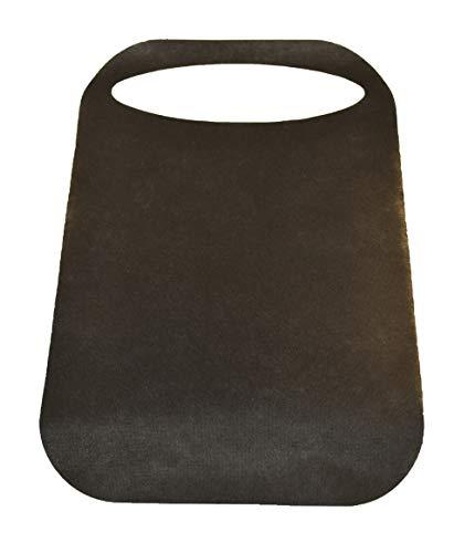 beybi Babero adulto desechable ideal para barbacoas, calçots, mariscadas (50uds Negro)