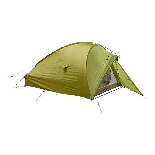 VAUDE 2-personen-zelt Taurus 2P, 2 Personen Kuppelzelt für Camping oder Wandertouren, leicht aufzubauen, mossy green, one Size, 114981480