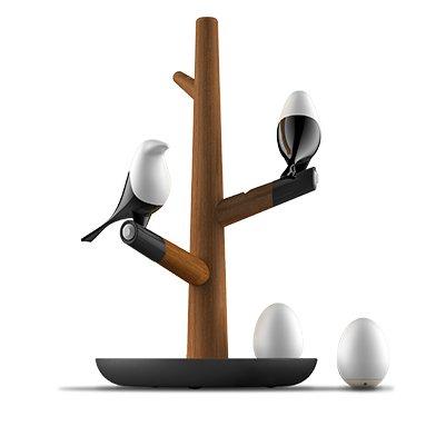 HomeTree MAGLAMP LED 人感センサーライト 室内照明 天然木 ナイトライト 省エネ 動作感知式 卓上スタンド インテリ