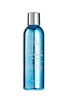 Dr Denese SkinScience Pore Refining Toner Calming & Clarifying with CoQ-10 Vitamins A&E Witch Hazel Retinol Aloe Rose Hip Fruit Acids & Citrus Extracts - Alcohol-Free Cruelty-Free - 8oz