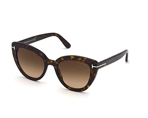 Gafas de Sol Tom Ford IZZI FT 0845 Dark Havana/Light Brown Shaded 53/21/140 mujer