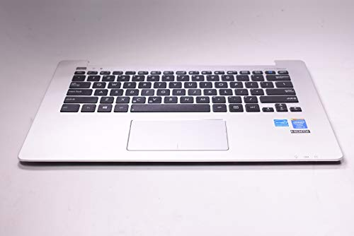 FMS Compatible with 90NB02Y1-R31US0 Replacement for Asus Palmrest Us Keyboard Q301LA-BHI5T02 Q301LA-BSI5T17