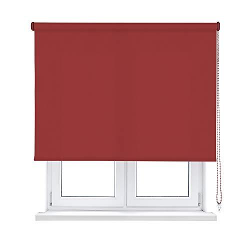 Viewtex - Estor Enrollable TRASLÚCIDO CLÁSICO (Disponible EN Varias Medidas Y Colores)