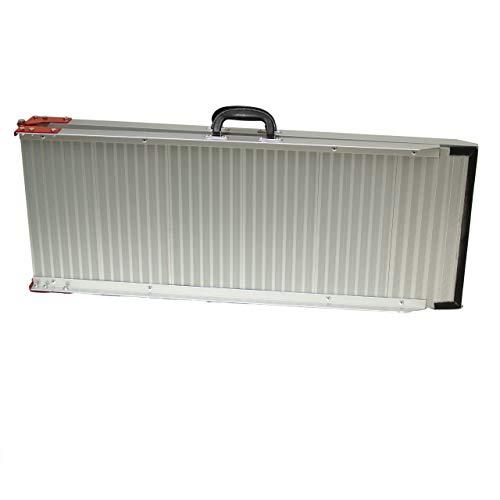 Rampe Aluminium klappbare faltbare Verladeschiene Einstiegshilfe Verladerampe