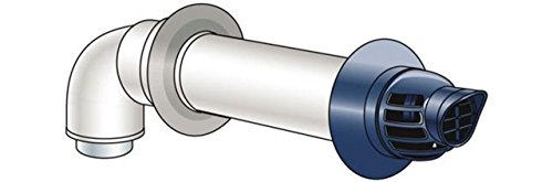 Rinnai 223187 21-Inch Non Condensing Horizontal Termination Diverter Kit