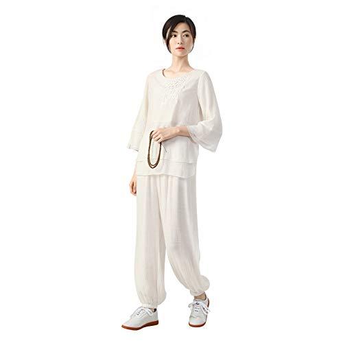 KSUA Mujeres Tai Chi Uniforme Kung Fu Chino Ropa Traje