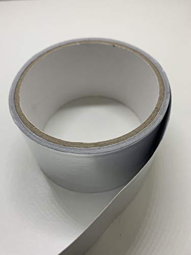 Alltapesdepot AF-20R Heat Shield Resistant Aluminum Foil Tape: 3 in. Wide x 50 yds. (2Mil)