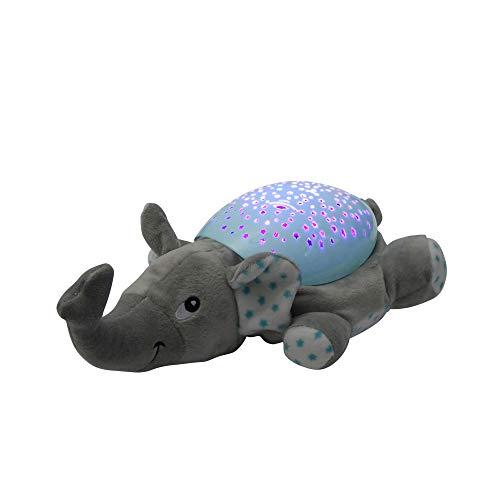 """LED-Lampe\""""Elefant Dumbo\"""" mit Sternenhimmel, Musik als Einschlafhilfe und Nacht-Tischlampe"""