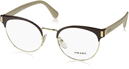 Prada Frame BROWN/PALE GOLD WITH -